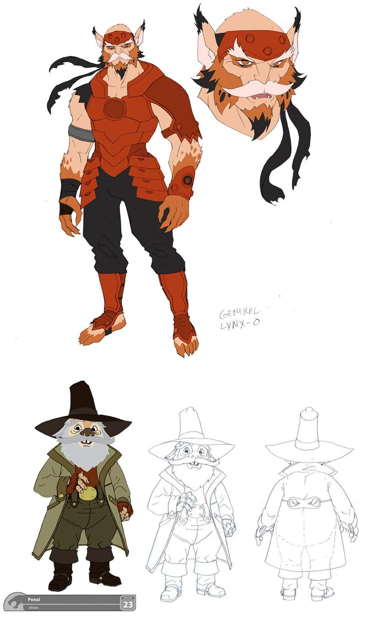 Personagens de Thundercats, por Dan Norton | THECAB - The Concept Art Blog