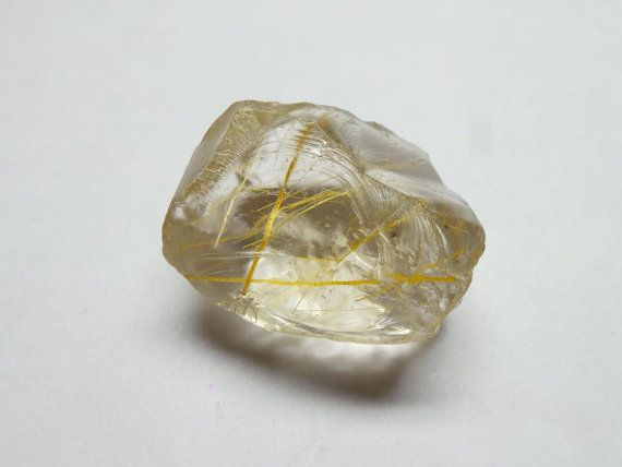 Exquisite Pretty Natural Golden Rutile Rough Chip by StarGemBeads
