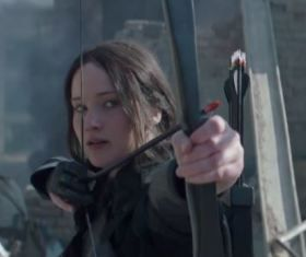 """Mockingjay Part 1 Trailer: Katniss """"Never Wanted Any of This"""""""