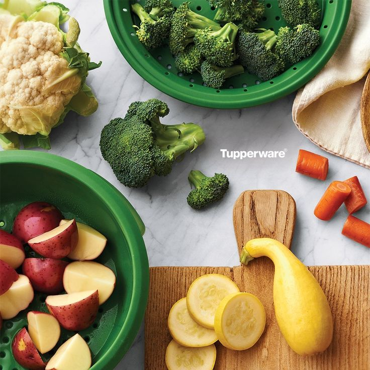 Retain more veggie goodness. The Tupperware® SmartSteamer brings out the best in your ingredients. Meats stay moist and tender; vegetables are crisp and desserts are light and fluffy. Unique design...