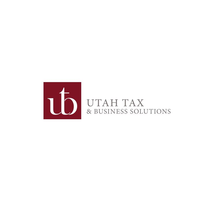 Utah Tax & Business Solutions Logo Design #epicmarketing #logo #graphicdesign #visualidentity