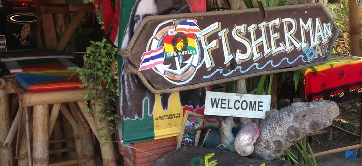 Fisherman Bar is on the border of Choeng Mon and Chaweng. Perfect reggae bar adorned with Bob Marley memorabilia. The food is outstanding. The hosts are amazing. http://www.welovekohsamui.com/listing/fisherman-bar-choeng-mon/
