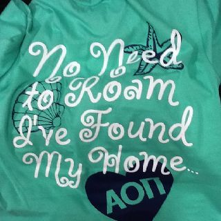 The adorable bid day shirts from the Alpha Theta chapter at Coe College!