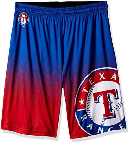 MLB Men's 2016 Gradient Polyester Shorts - Texas Rangers, XX-Large  http://allstarsportsfan.com/product/mlb-mens-2016-gradient-polyester-shorts/?attribute_pa_teamname=texas-rangers&attribute_pa_size=xx-large  Available in NFL,NCAA,MLB,NBA,NHL 100% officially licensed Apparel The perfect item for any true fan