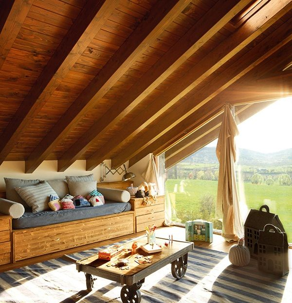 El-Mueble-Vivir-en-una-buhardilla-dormitorio_infantil_con_ventana_al_monte_7