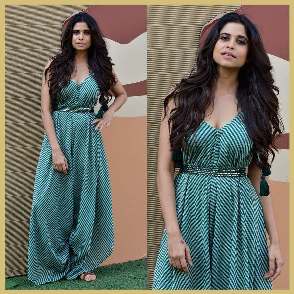 Sai Tamhankar at Punit Balana, Lakme Fashion Week Summer Resort 2018 Day 5, Appearances