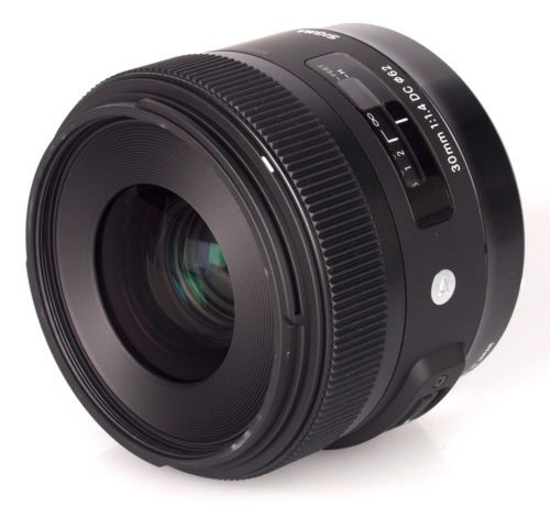 Sigma 30mm f/1.4 DC HSM Art Lens for Canon - Brand New!