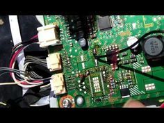 lg led tv model24mt44a pt repair tutorial - YouTube