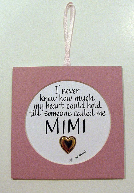 I Never Knew How MuchMimi by PenCraftbyLinda on Etsy, $8.00