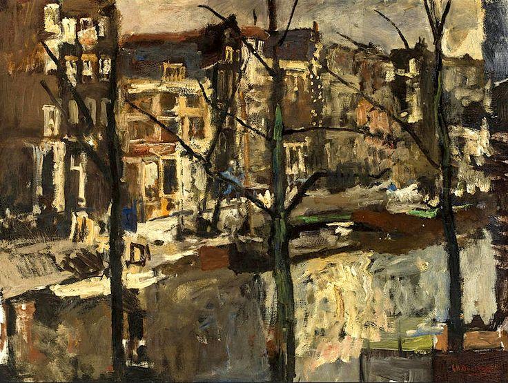 GEORGE HENDRIK BREITNER (1857-1923) The Singel, Amsterdam