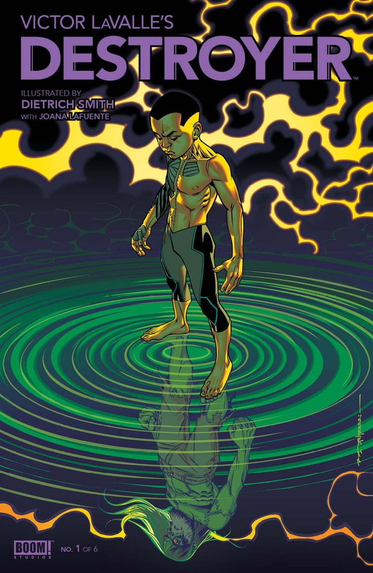 "Horror novelist Victor LaValle is set to launch his first comic book series next month from BOOM! Studios, titled ""Victor LaValle's Destroyer"" and illustrated by Dietrich Smith. The series provocative premise combines the real-life Black Lives Matters movement with a modern-day take on Mary Shelley's ""Frankenstein,"" when, as the official description reads, ""the last descendant of the Frankenstein family loses her only son to a police shooting."""