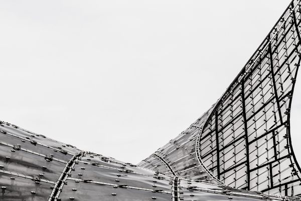 Olympiapark Abstracts by Cory Stevens, via Behance
