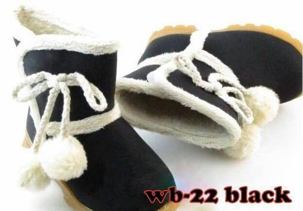 [Ready Stock] WB-22 BLACK Size 21(14cm)-22(14,5cm)-23(15cm)-24(15,5cm)-25(16cm). Harga : Rp.125.000,-/psg. Order SMS 081212415282. PIN BB 26e6d360. FB: Mayorishop Online. HAPPY SHOPPING!!! ^_^
