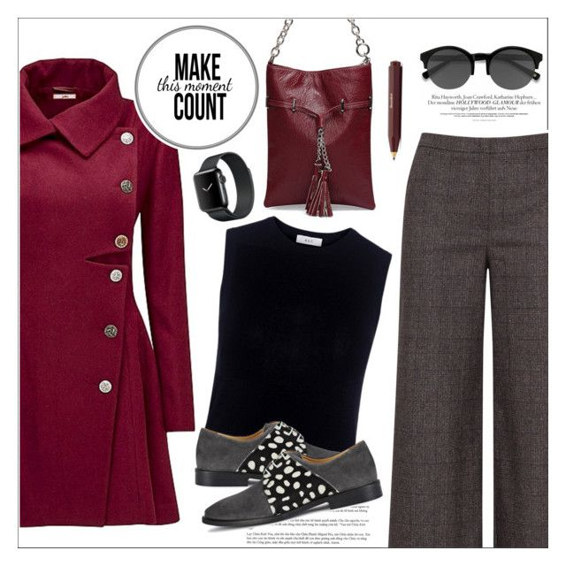 """Joe Browns Coat"" by biange ❤ liked on Polyvore featuring Joe Browns, navabi, A.L.C. and EyeBuyDirect.com"