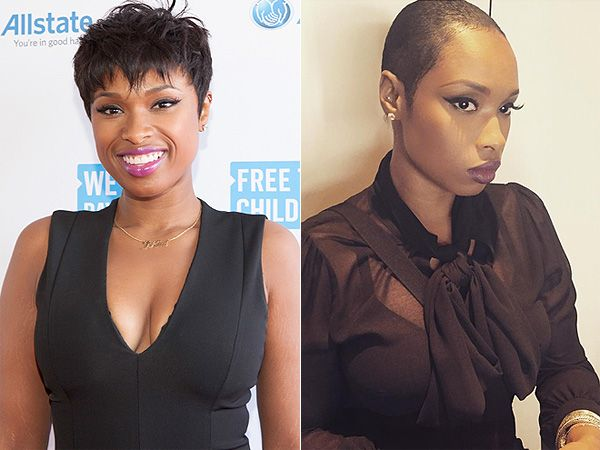 Jennifer Hudson Get Super-Short Hair, Celebrity Hair Changes ...