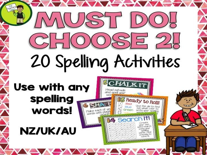 These spelling activity task cards and Print and Go student worksheets are designed to save you time while providing students with a range of fun and interactive ways to practice their spelling words. The best thing about these activity cards is they work...