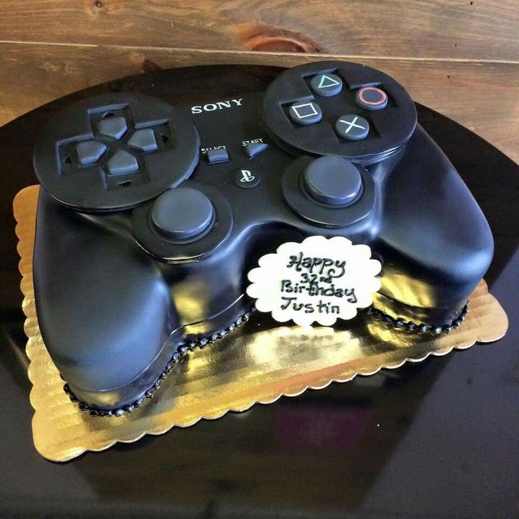 Playstation controller cake..So cool