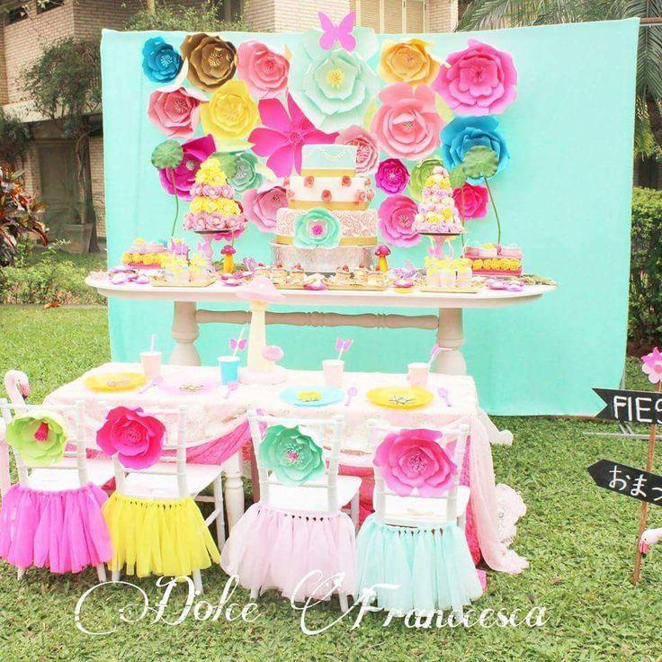Party Garden Birthday Ideas