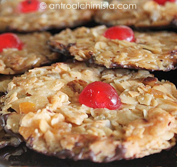 L'Antro dell'Alchimista: Florentines - Tyrolean Christmas  Cookies