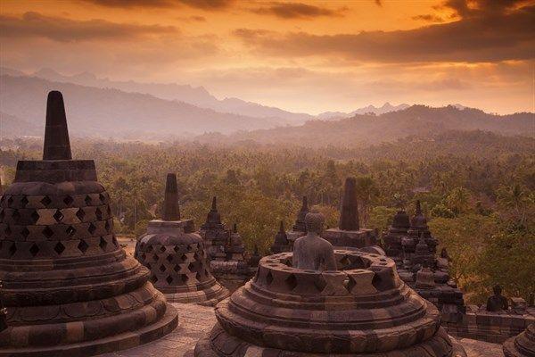 Indonesia Magelang Borobudur Temple
