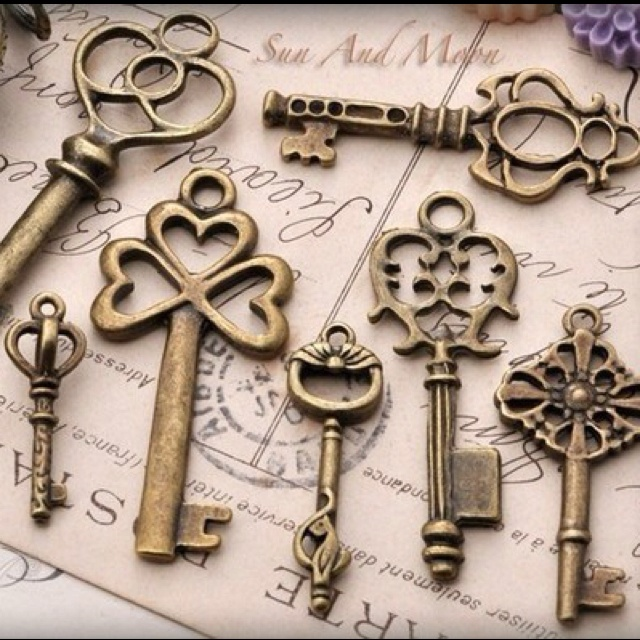 Skeleton keys are more than decorations, they open doors as well.