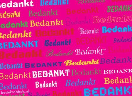 bedankje verjaardag | Bedankjes Plaatjes voor Facebook - BesteKrabbels.nl