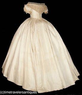 American Civil War Era Wedding Gown  I can't ...