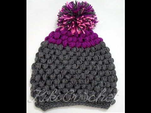 Crochet Puff Stitch Hat, My Crafts and DIY Projects