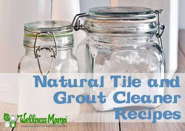 Natural Tile And Grout Cleaner Recipe Pinterest