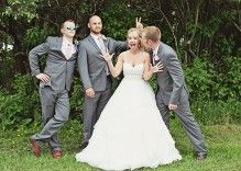 Male-Bridesmaids!