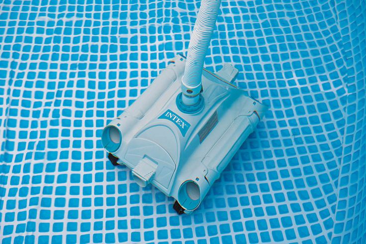 Intex Automatic Hassle Free Above Ground Swimming Pool Vacuum Cleaner | 28001E