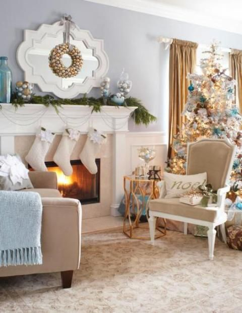 Decoration, Ideas For Living In Small Spaces Christmas Interior Decorating  Ideas For Living Rooms Cheap