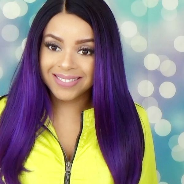 how to wear a lace frontol wig youtube
