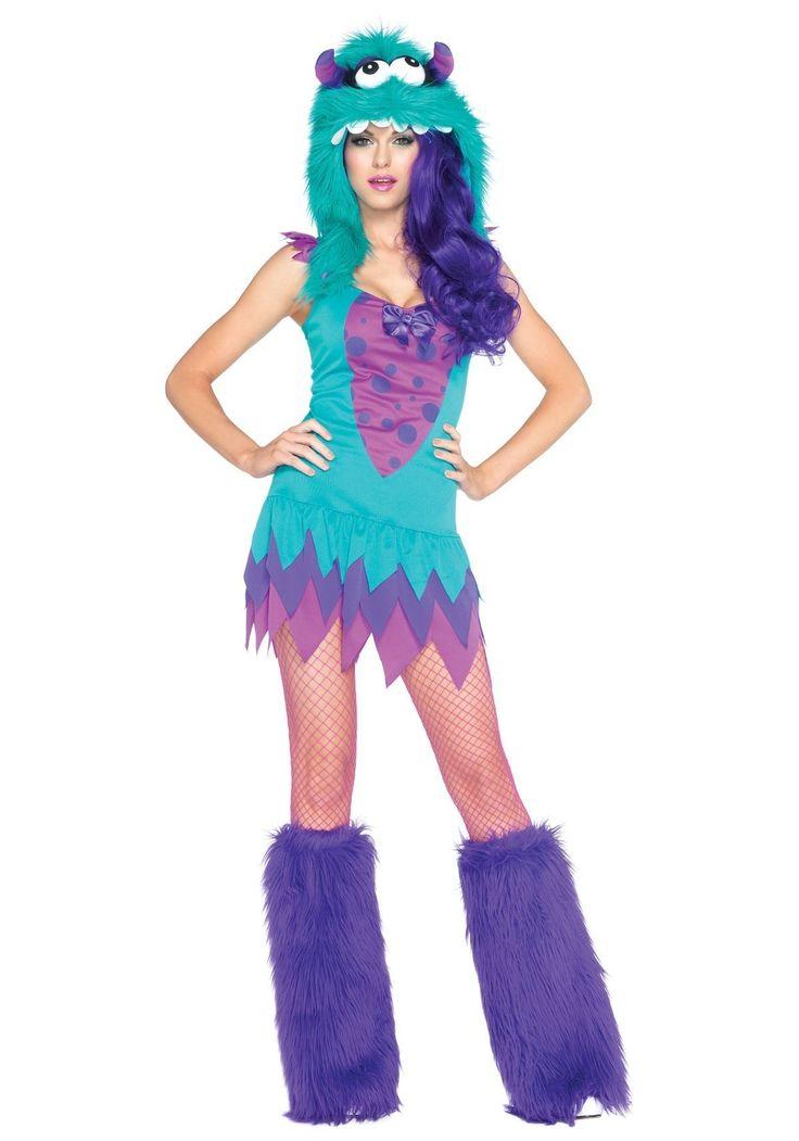 Disfraces originales para Carnaval 2015 disfraz monstruos sa