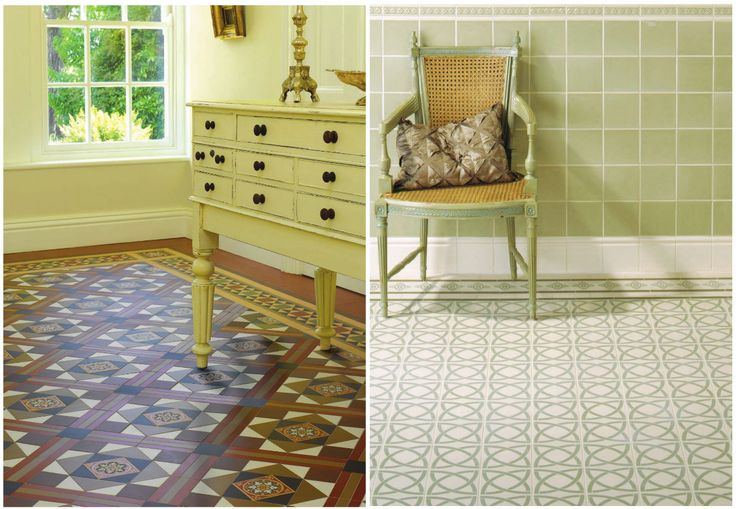 17 best images about victorian dining room on pinterest for Victorian kitchen floors
