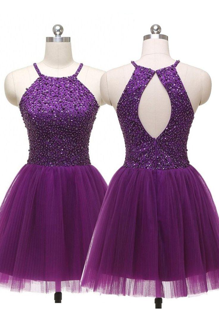 homecoming dress.purple homecoming dress,short homecoming dress,homecoming dress…