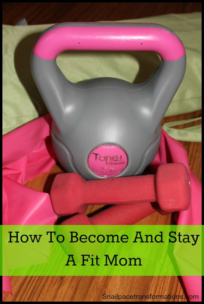 A one week series on how to get back into fitness as a mom and make sure it sticks this time.
