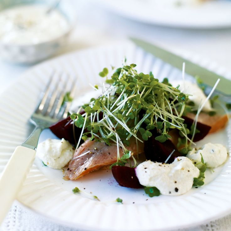 A simple-to-prepare fish starter recipe, packed full of flavour