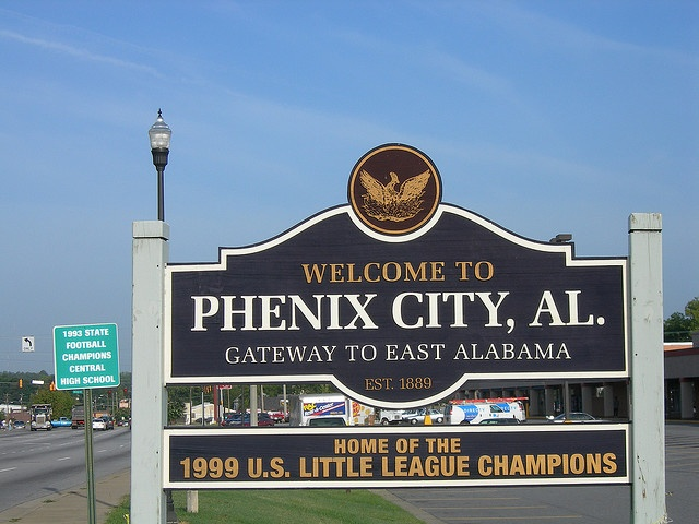 Welcome to Phenix City, Alabama