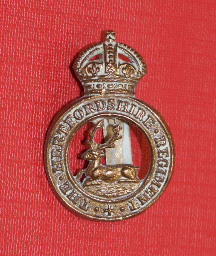 Hertfordshire Regiment Cap Badge