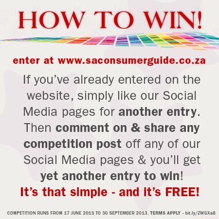 How to win with SA Consumer Guide: