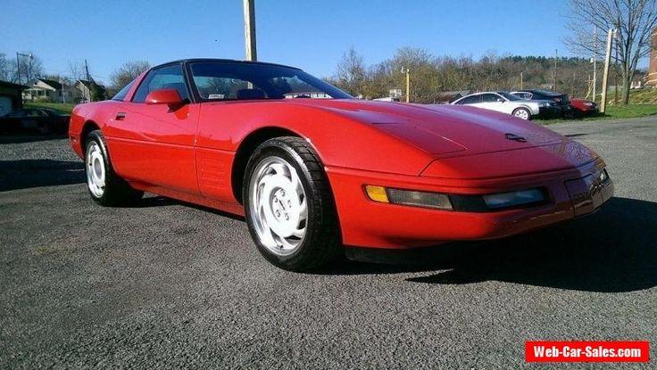 1991 Chevrolet Corvette ZR-1 #chevrolet #corvette #forsale #unitedstates