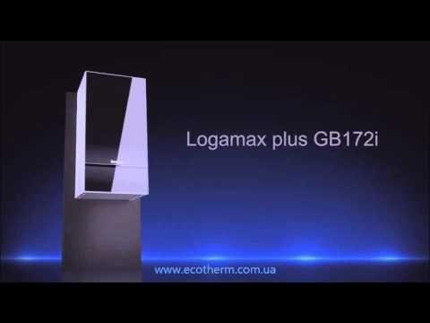 Котел конденсационный Buderus Logamax plus GB172-35 iK (черный) купить в Интернет-магазине. Низкие цены