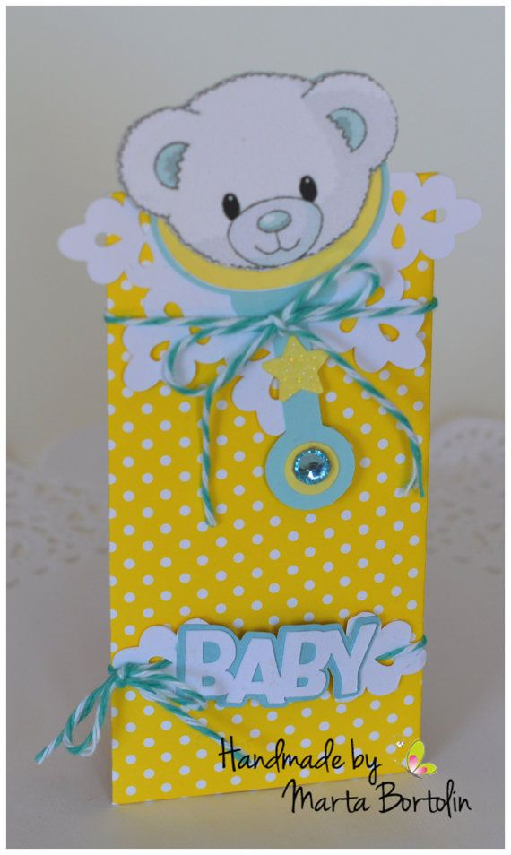 Baby Shower Treat Bag Personalized Treat bag by tracesofcrafts