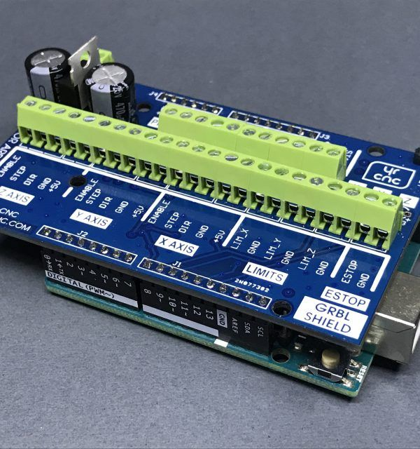 Arduino CNC Isolation Shield Used to optimize reliability of the Arduino