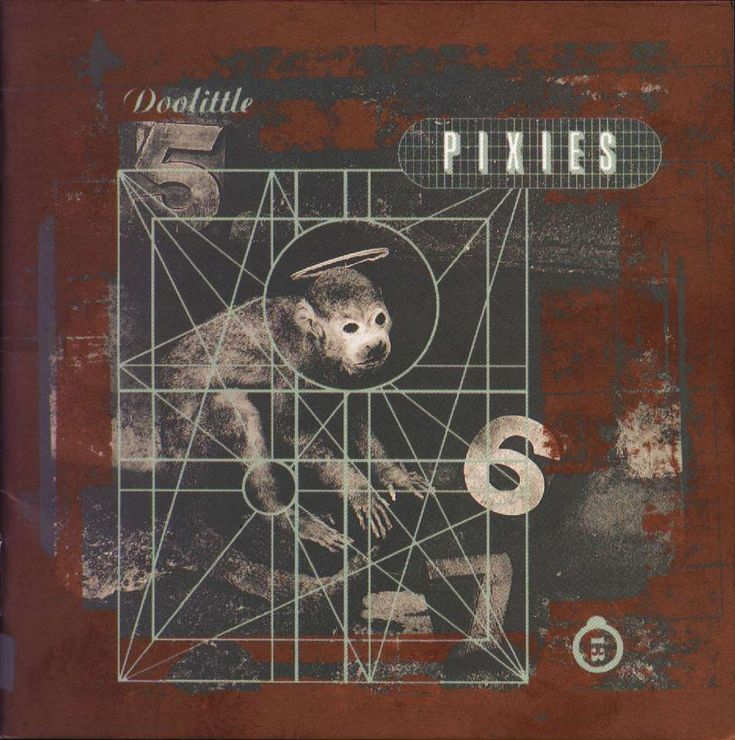 albumcover Doolittle - The Pixies, by Vaughan Oliver