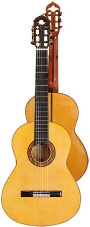 Ver Modelo Solea (Amarilla): Guitarra Flamenca del Constructor Francisco Bros, en el Blog de guitarra Artesana