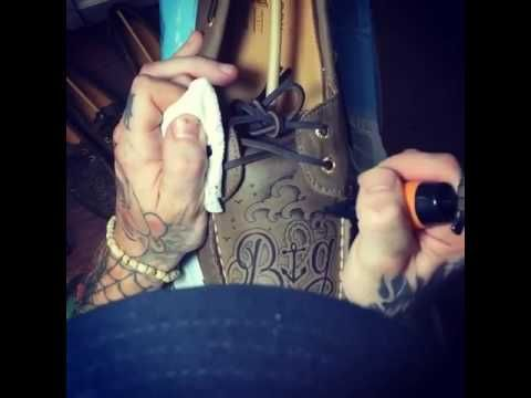 Sperry boat shoes tattooing by @Tattoosbyslimm