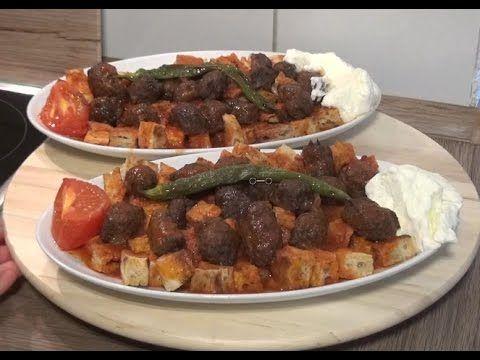 Ev Usulü+Yapimi Çok Kolay Köfteli İskender Kebab Tarifi - YouTube