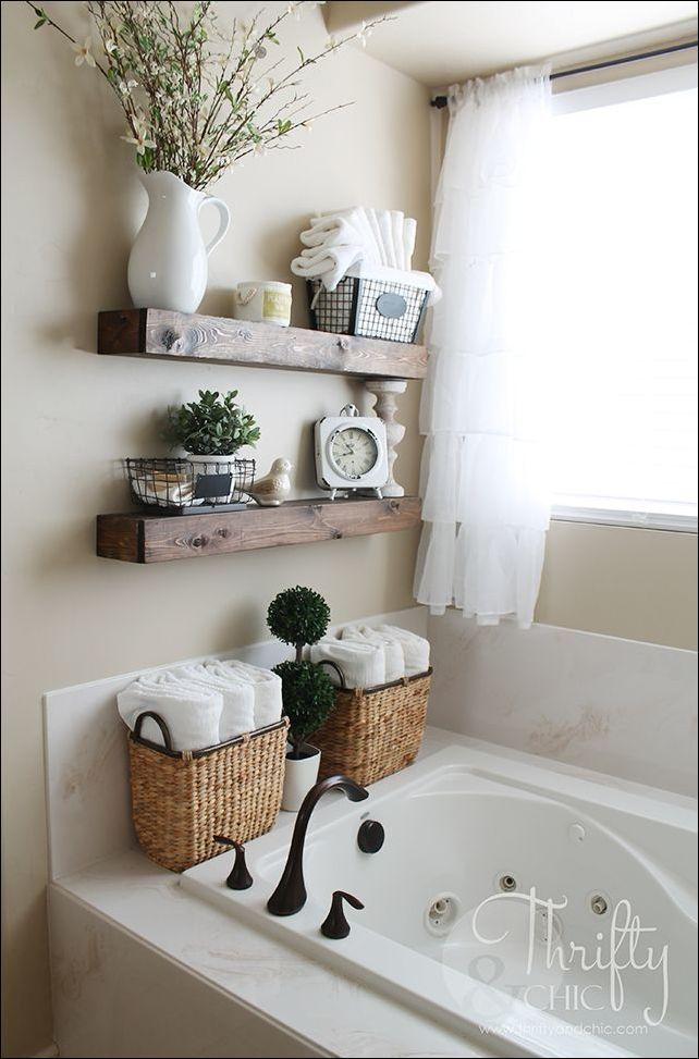 diy shelf ideas for bathroom%0A Explore these ideas and more  diy bathroom